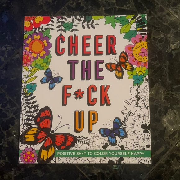 Adults only coloring book ** Cheer the F**k Up coloring  book for adults  NWT.
